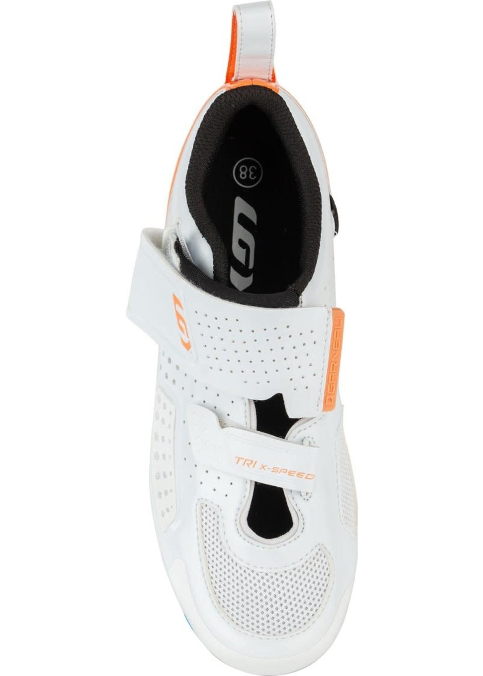 LOUIS GARNEAU Souliers Tri X-Speed IV / 40 / Blanc & orange
