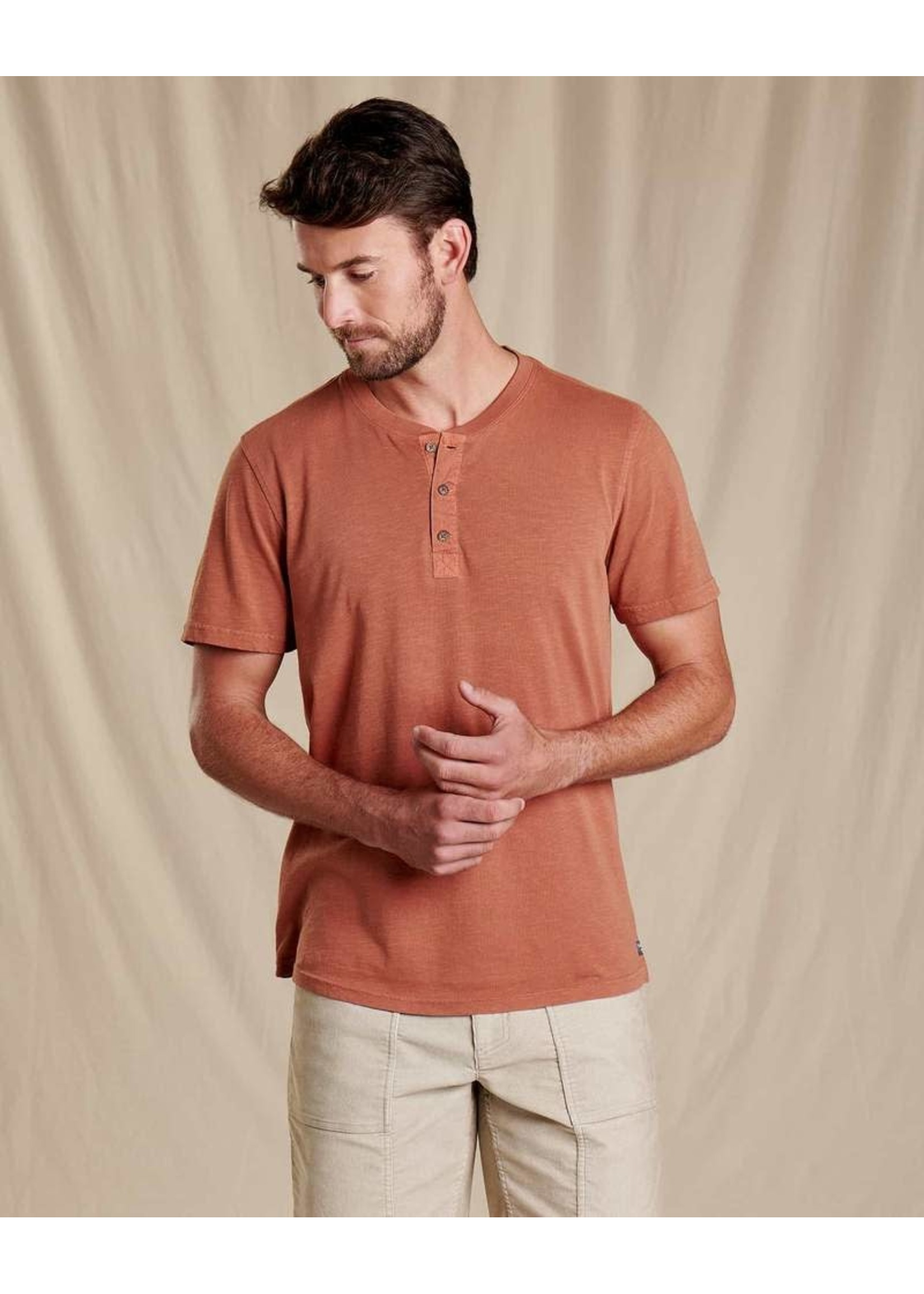TOAD & CO T-shirt Primo Henley