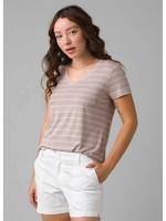 PRANA T-shirt col en V Foundation