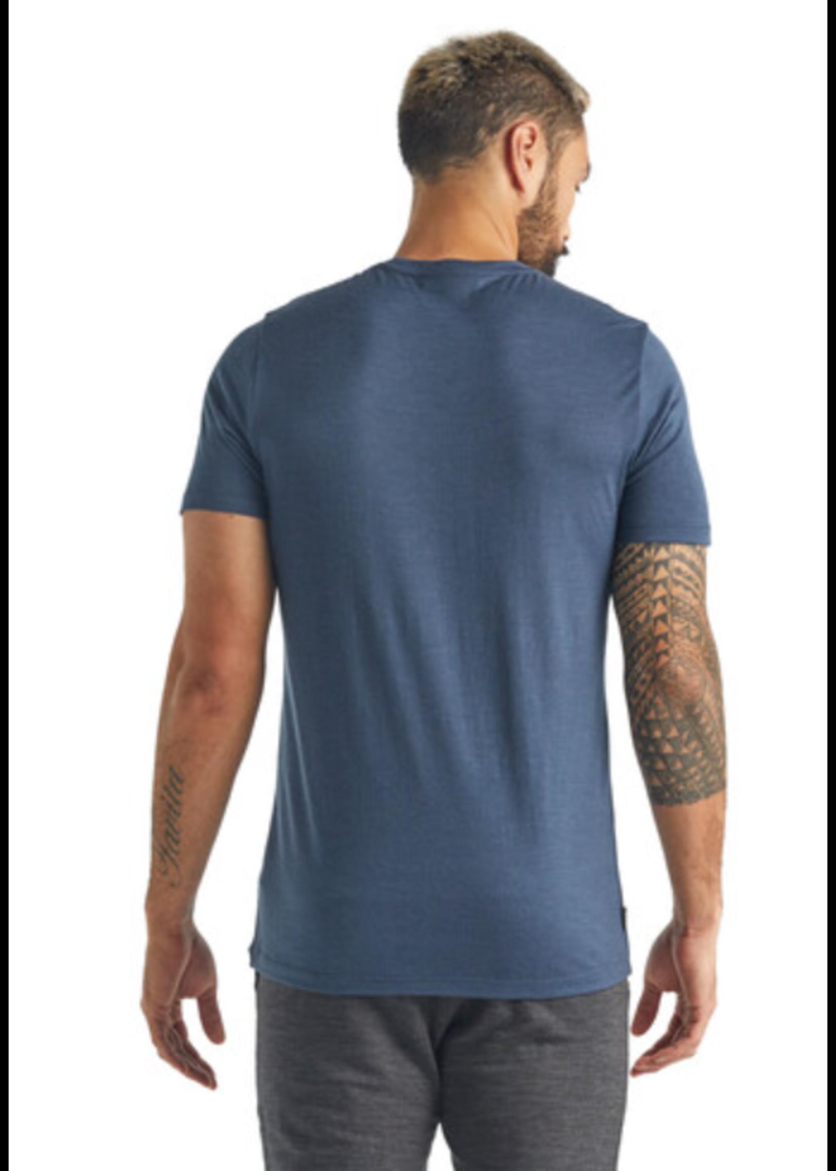ICEBREAKER T-shirt à col rond Tech Lite Story