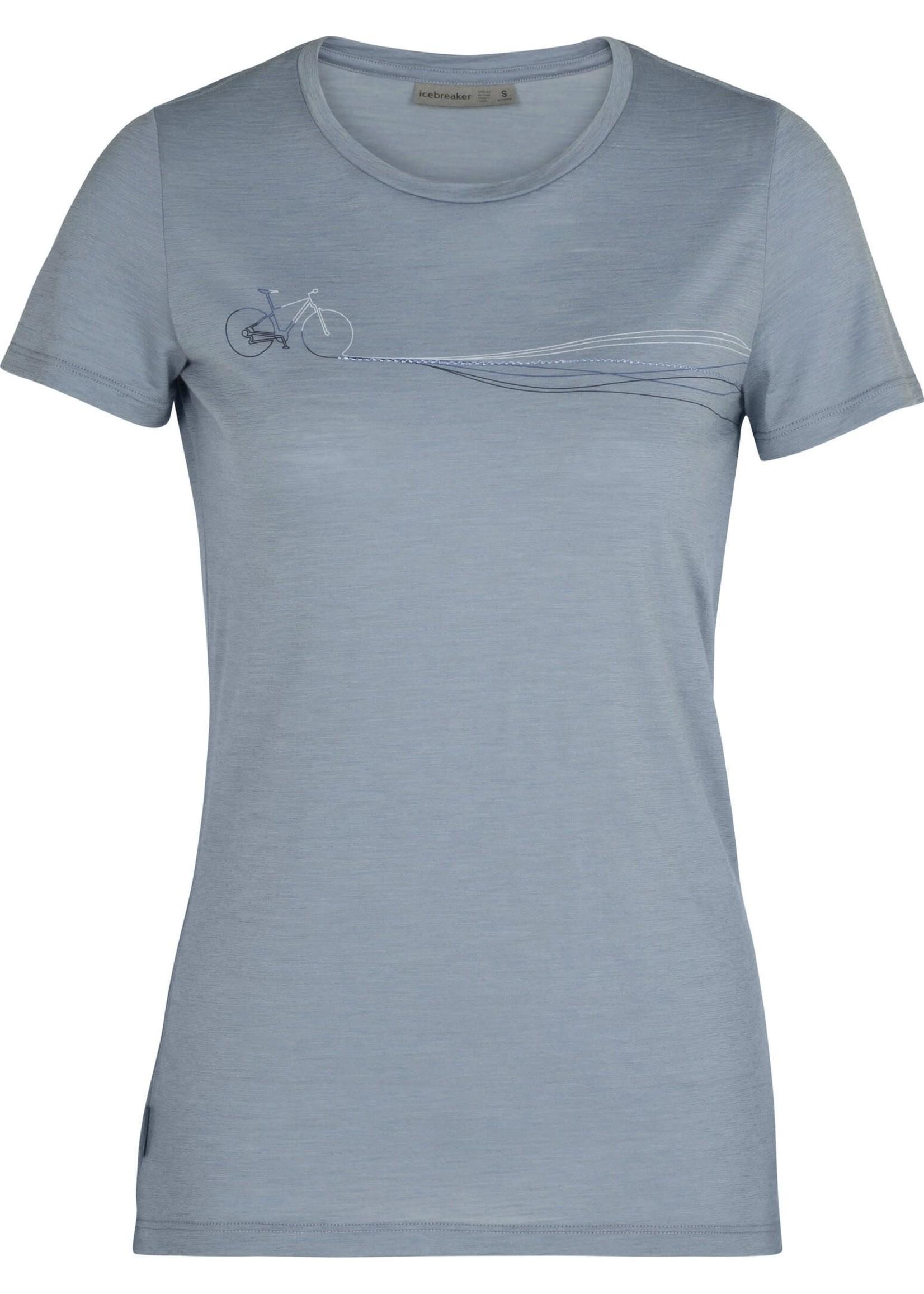 ICEBREAKER T-shirt à col rond Spector Cadence Paths