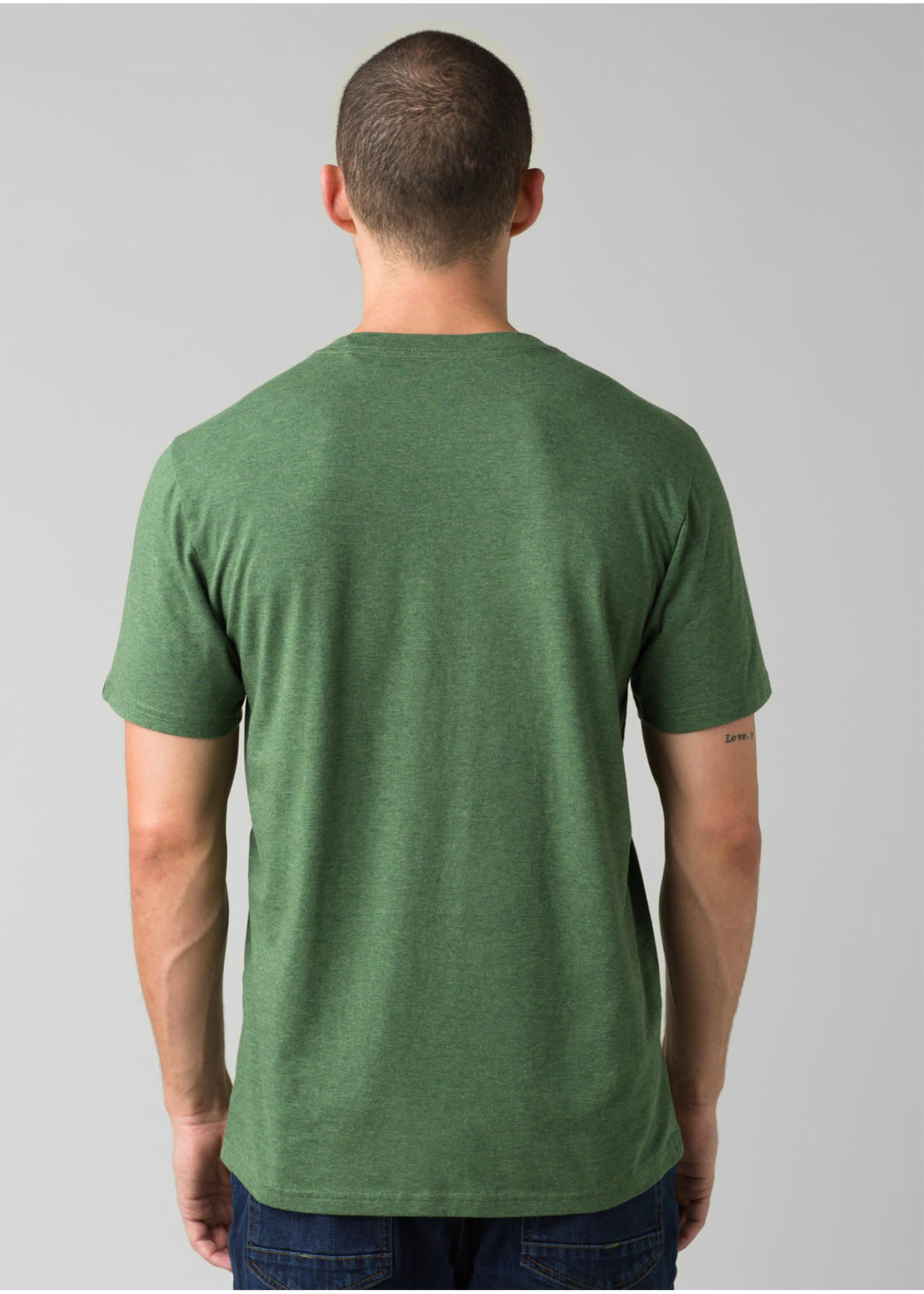 PRANA T-shirt Will Travel Journeyman
