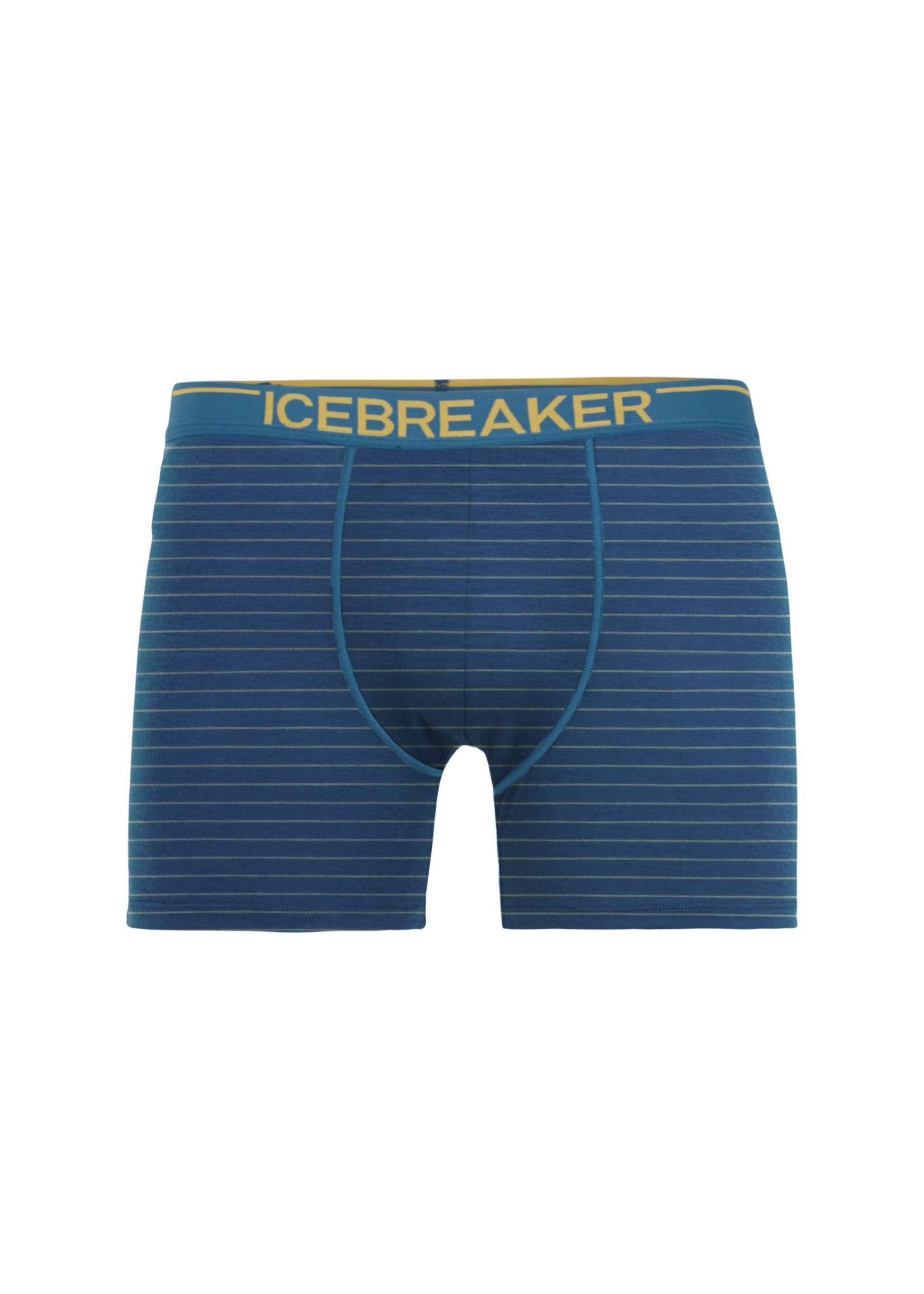 ICEBREAKER Boxer Anatomica / Large / Bleu