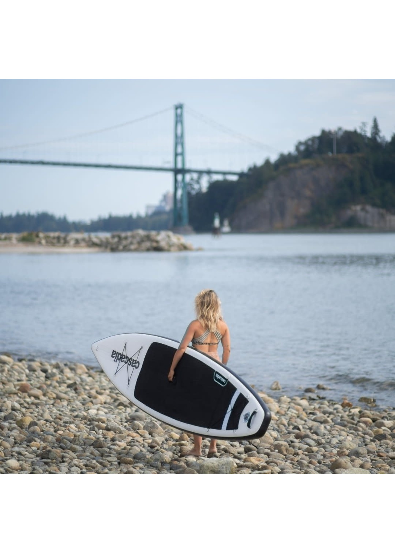 """CASCADIA Planche à pagaie gonflable iStraight - 12'6"""""""