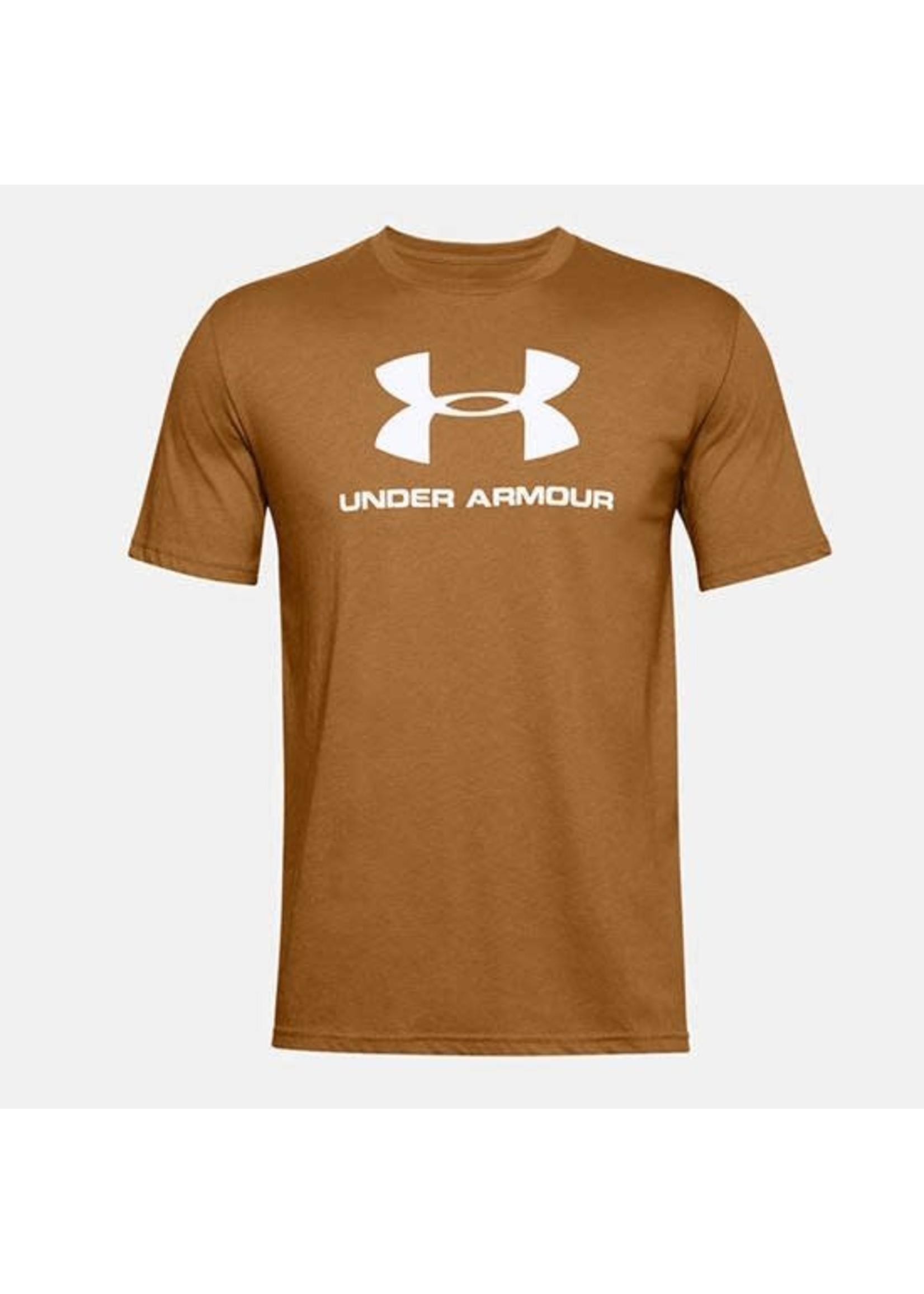 UNDER ARMOUR T-shirt Sportstyle / Medium / Jaune
