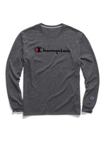 CHAMPION Chandail Powerblend Graphic / Small / Gris
