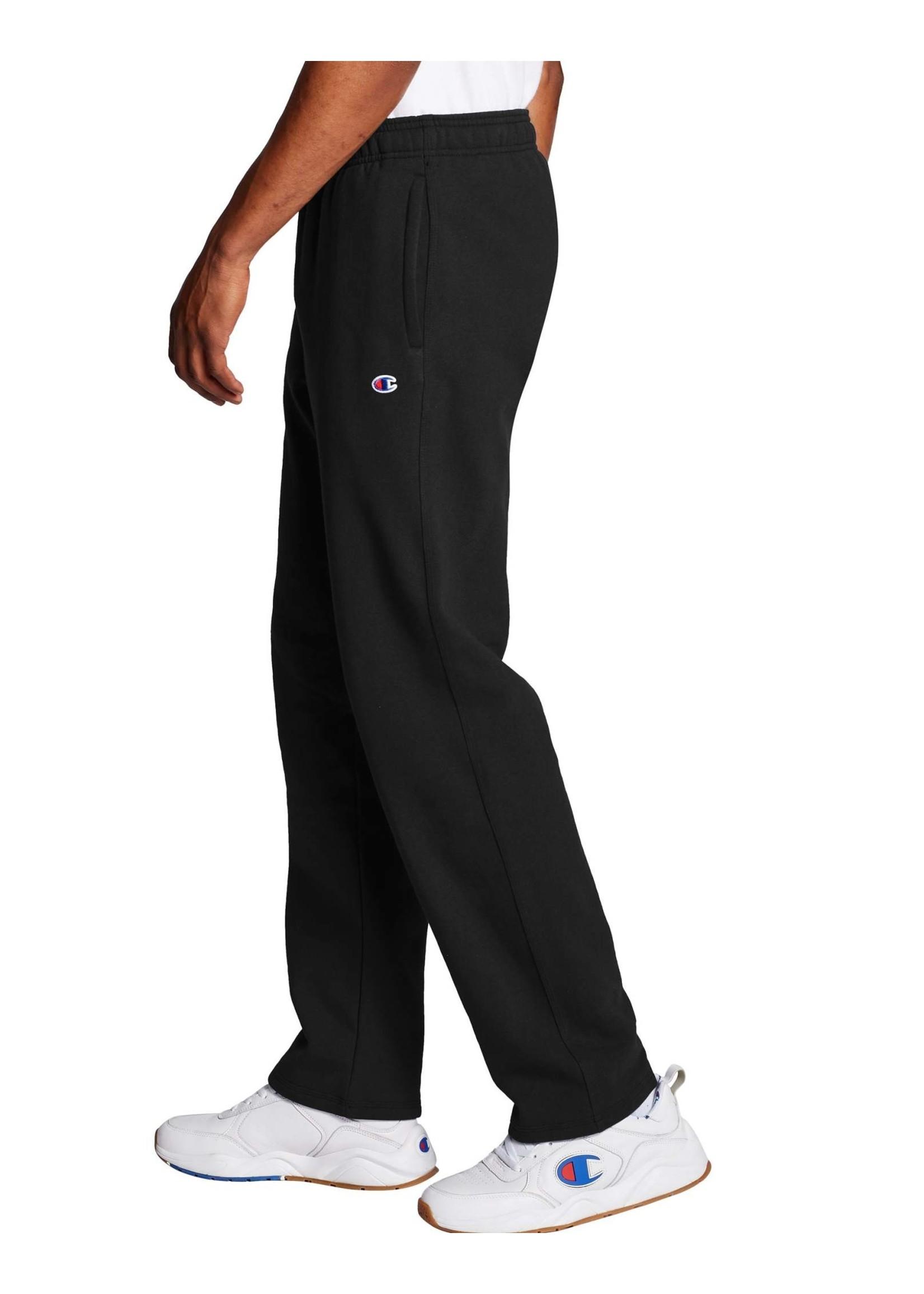 CHAMPION Pantalon Powerblend Fleece Open Bottom