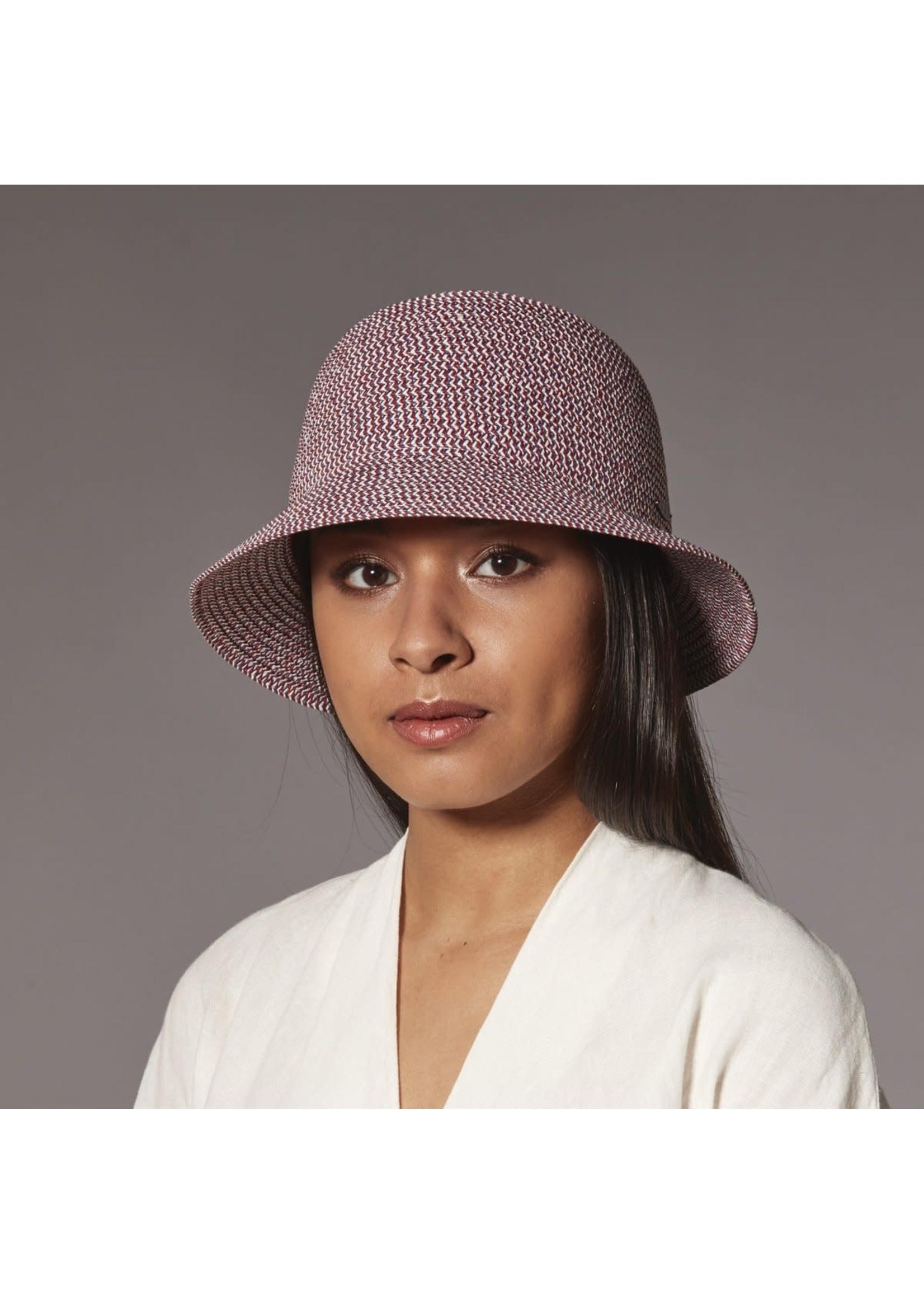 HARRICANA Chapeau Codie Cloche en paille de papier