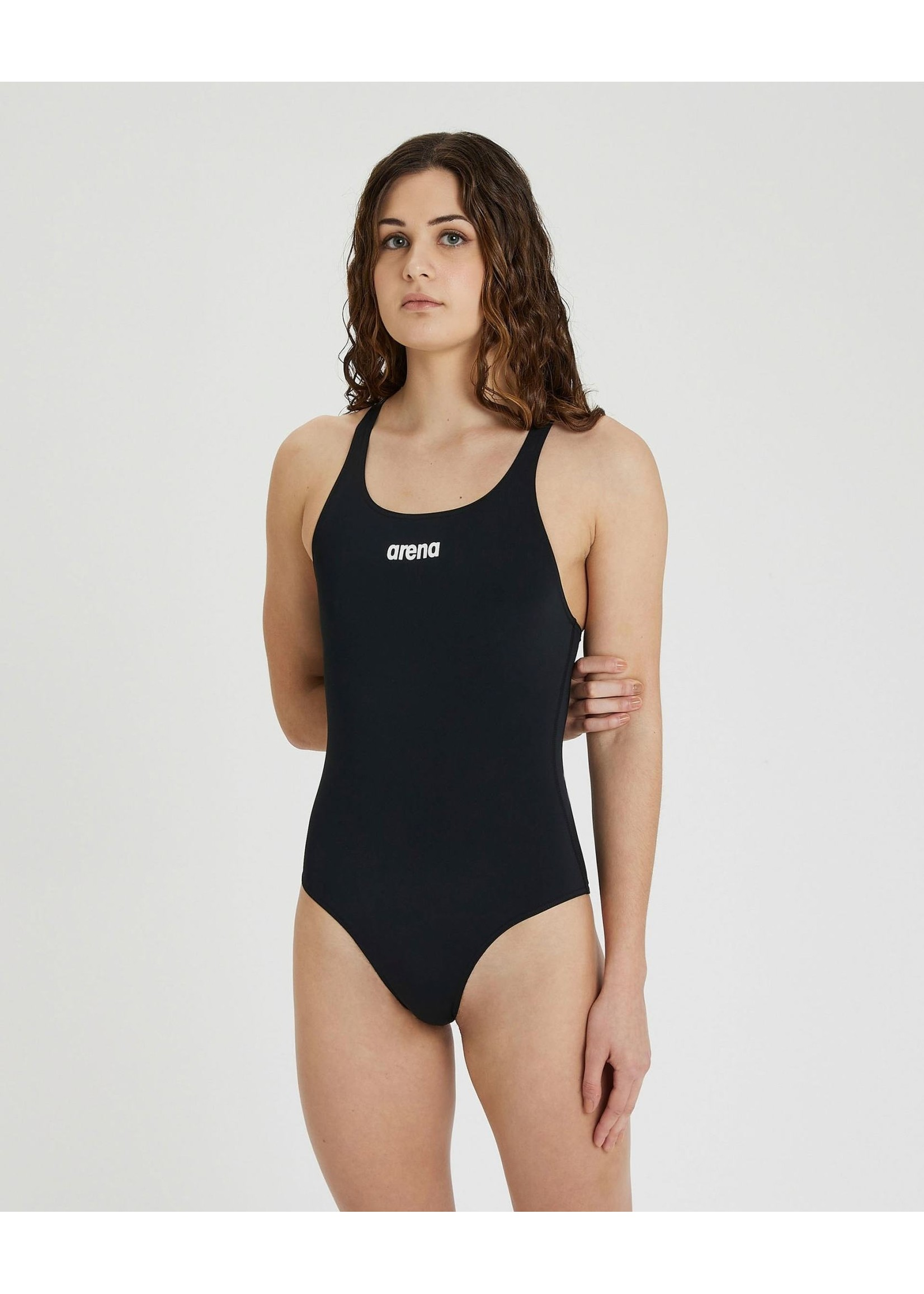 ARENA Maillot Solid Swim Pro