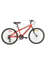 """MINELLI Vélo Neon / 24"""" / Rouge & noir"""