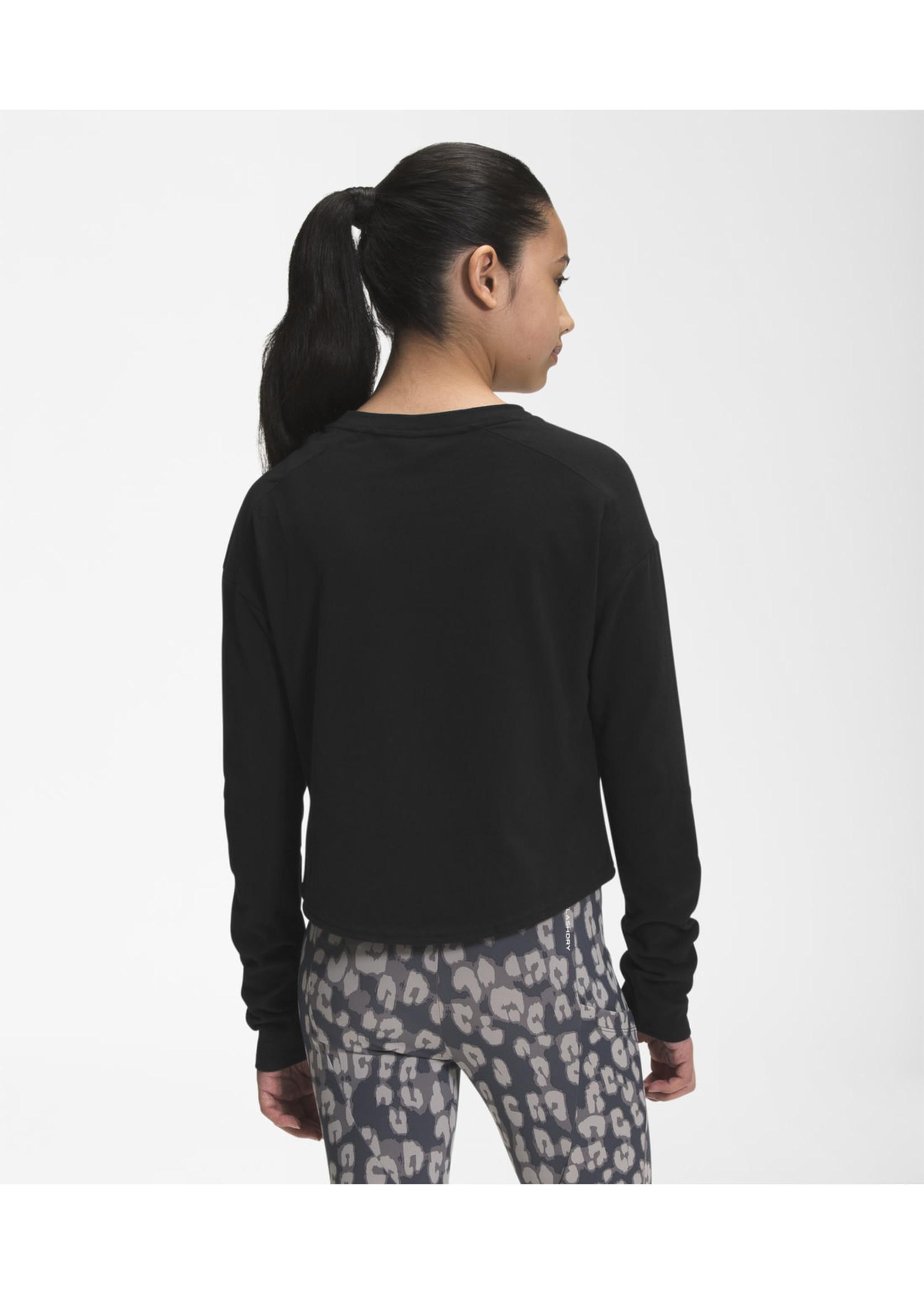 THE NORTH FACE T-shirt graphique à manches longues pour fille