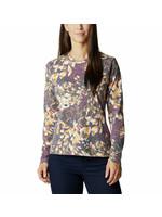 COLUMBIA T-shirt à manches longues avec motif Sun Trek™
