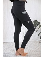 ROSE BUDDHA Legging Taille Haute Course