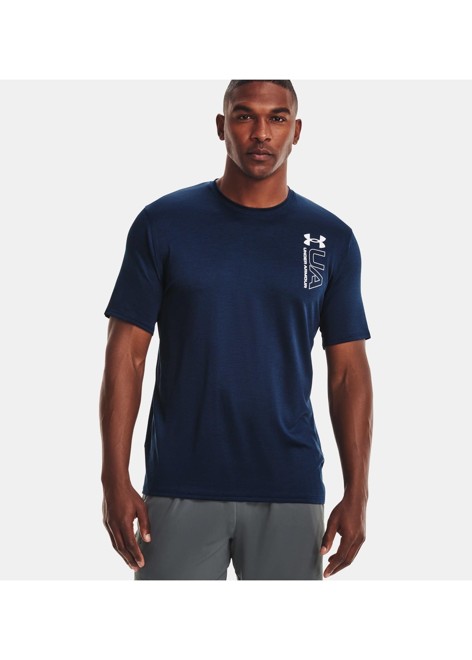 UNDER ARMOUR T-shirt UA Training Vent imprimé pour homme