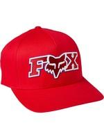 FOX Casquette ELLIPSOID FLEXFIT / Rouge
