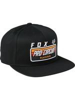 Fox Casquette FOX PRO CIRCUIT SNAPBACK / Taille unique / Noir