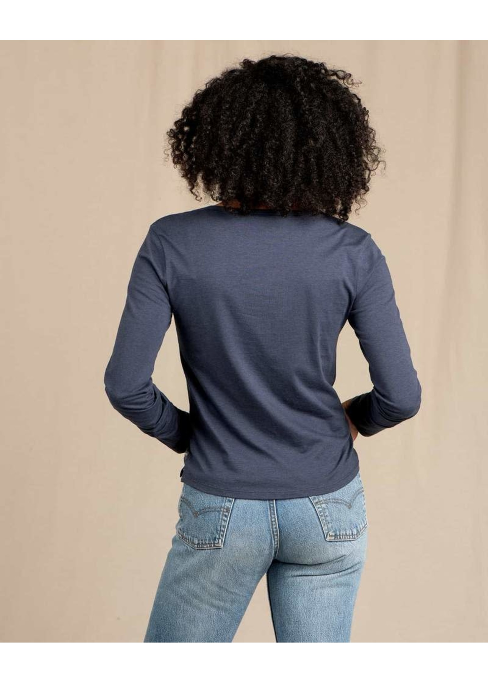 TOAD & CO T-shirt à manches longues ROSE