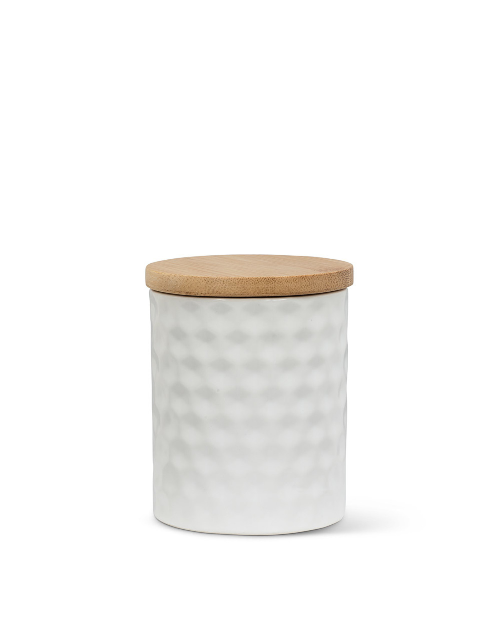 Small Hexagon Textured Canister