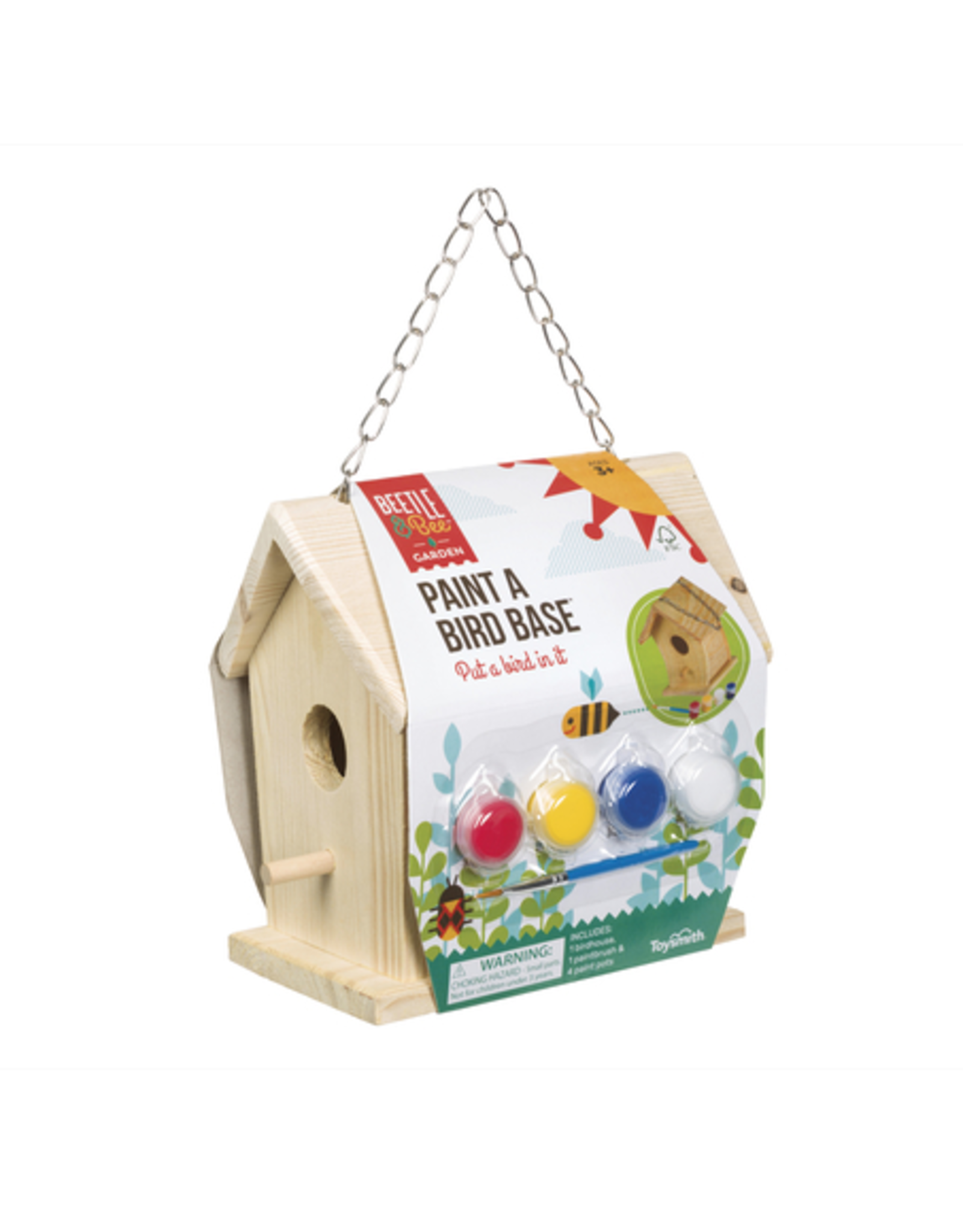 Toysmith Paint A Bird Base