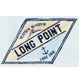 Custom Wood Long Point Sign