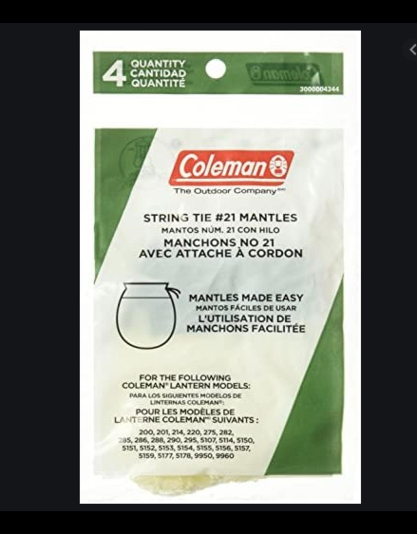 Coleman String Tie #21 Mantles