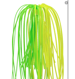 Strike King Strike King Silicone Skirts Chartreuse/Lime 3pk