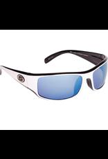 Strike King Strike King Wht/Blk/WhiteBlue Mirror Polarized Sunglasses