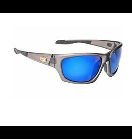 Strike King Strike King Plus Cypress Crystal/Blue Mirror Sunglasses