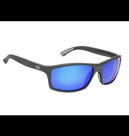 Strike King Strike King Brazos Black /Blue Mirror Sunglasses