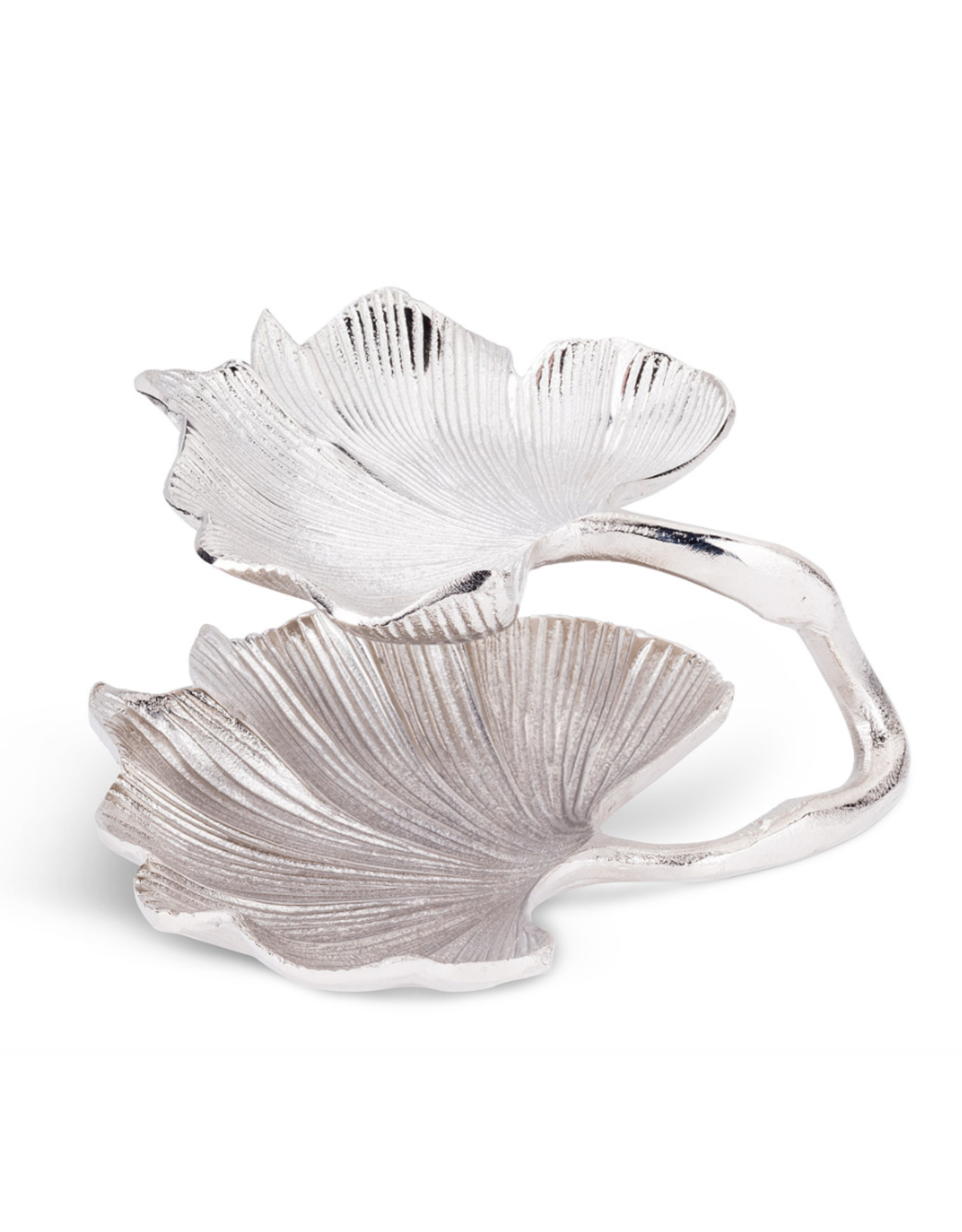 Abbott Small Two Tier Gingko Leaf Plate