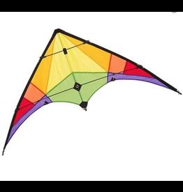 """Ecoline Kids Stunt Kite """"Rookie"""" Rainbow"""
