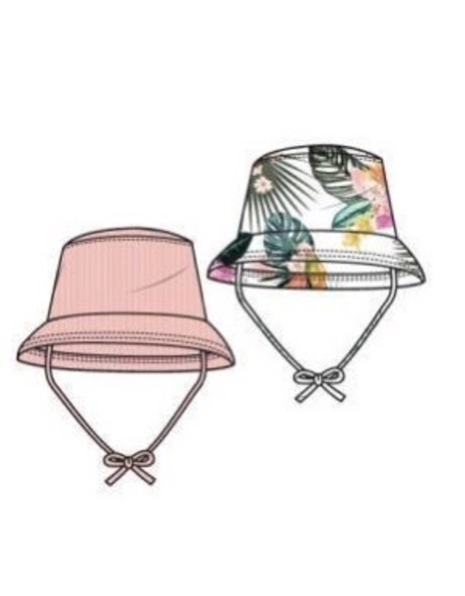 Girls Hat One Size (2-6)