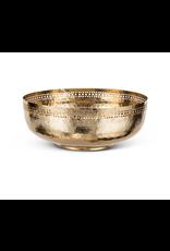 Abbott Small Dot Shallow Gold Bowl