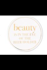 Abbott Beauty is in the Eye… Coaster