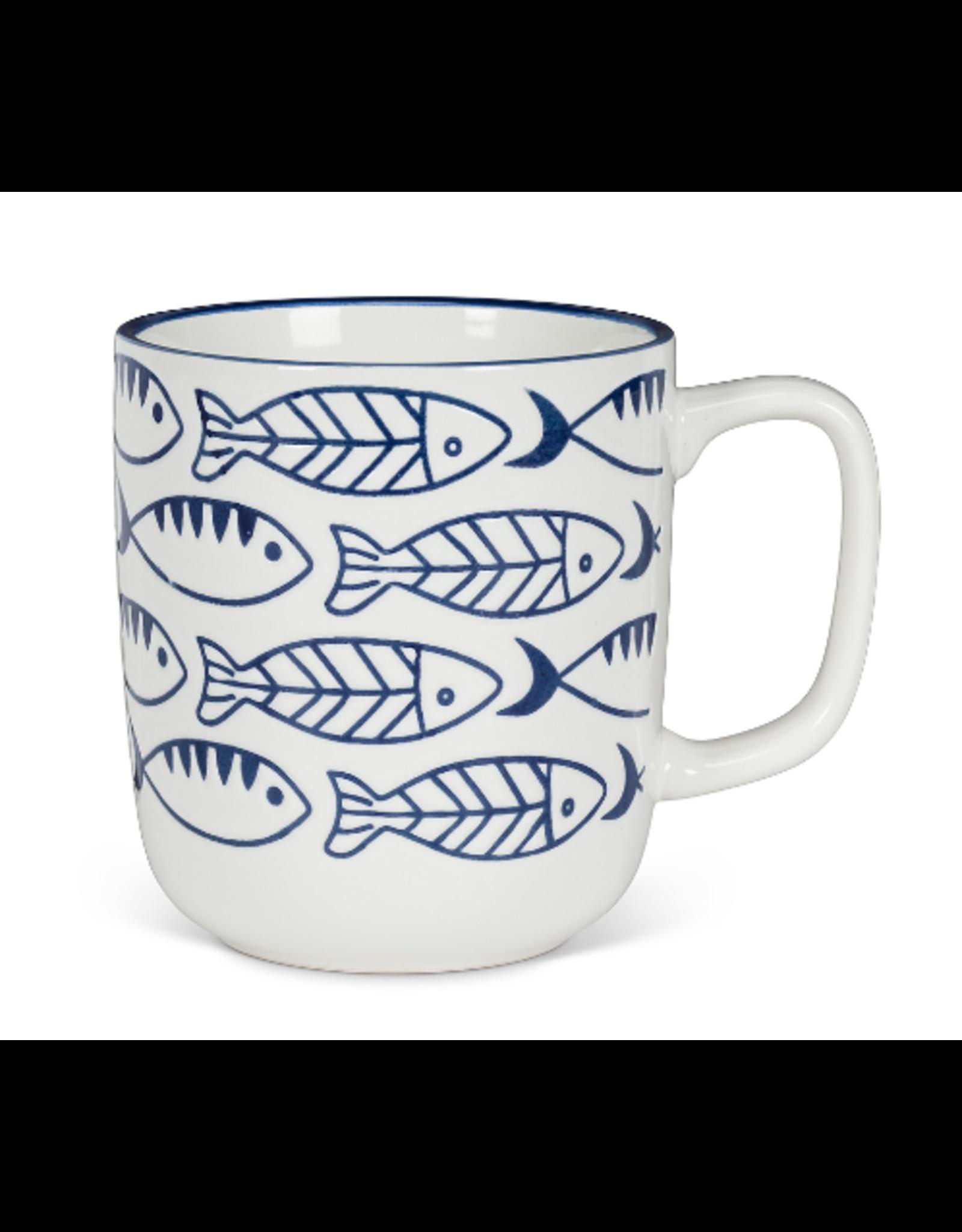 Abbott Swimming Fish Mug