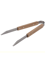 BBQ Tongs SS w/Wooden Handle 12.5