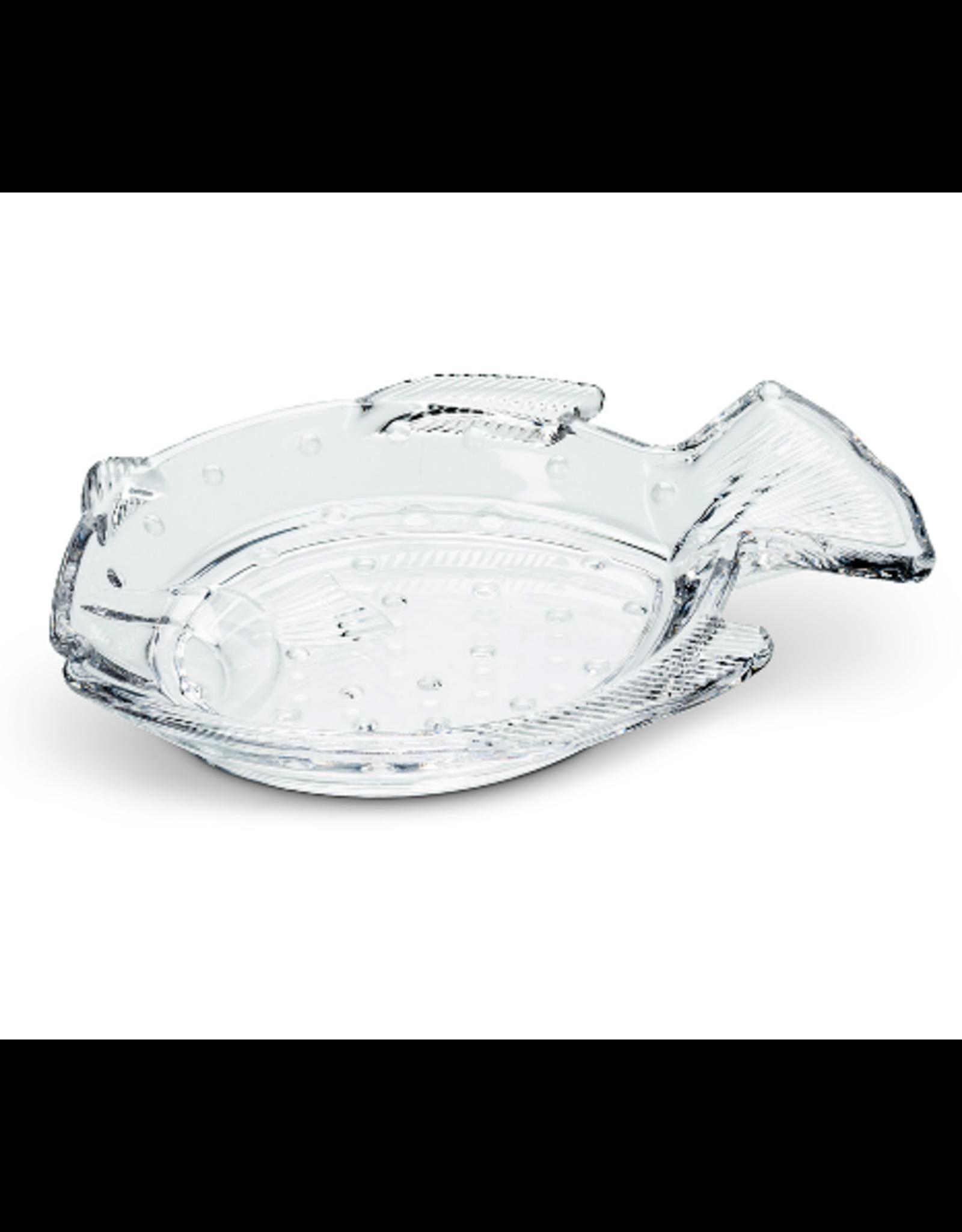 Abbott Flat Dotted Fish Dish