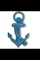 Abbott Blue Anchor & Rope Bottle Opener