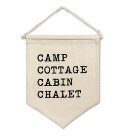 Abbott Camp/Cottage Wall Pennant