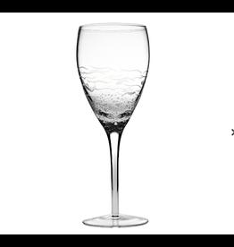Abbott Fish and Bubbles Wine Glass