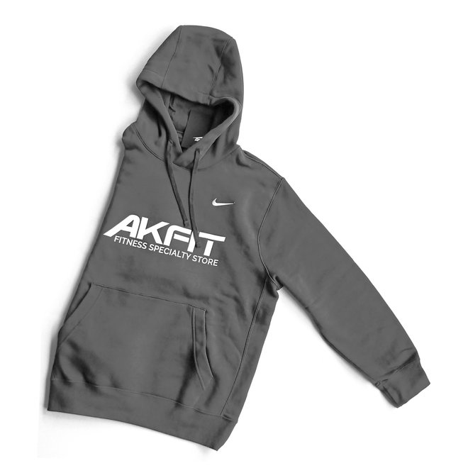 AKFIT Club Fleece Hoodie (Grey)