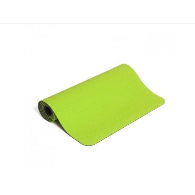 Jasmine line green 6mm Yoga Mat
