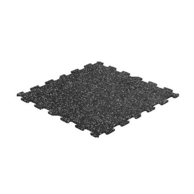 "Gorilla 24"" x 24"" x 8 mm  Commerical Interlocking Rubber Tile  Speckle V2"