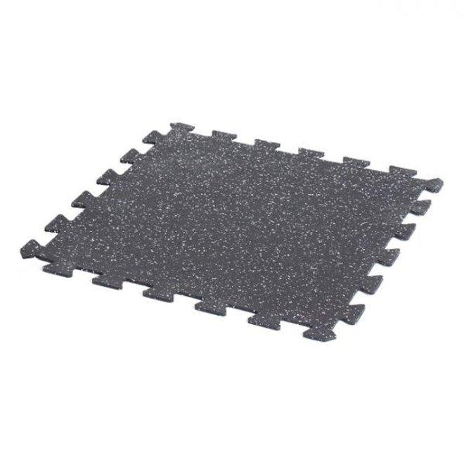 "Gorilla 24"" x 24"" x 6mm Interlocking Rubber Tile ECO Speckle"
