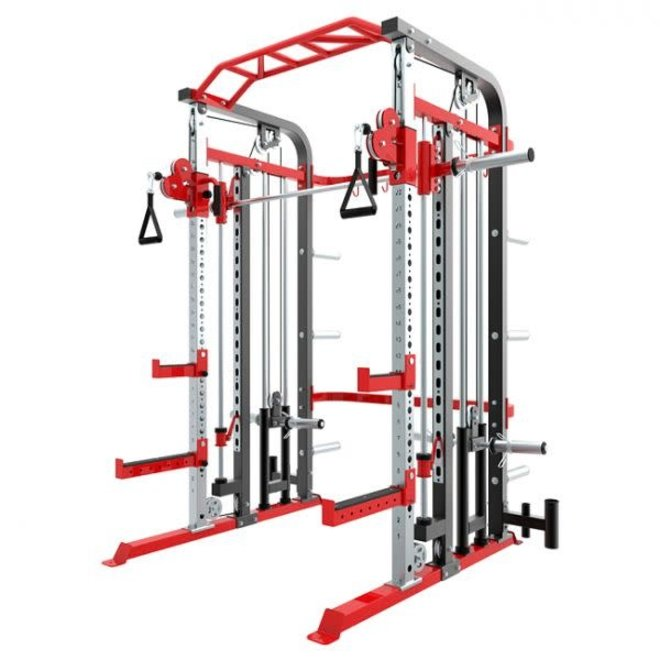Fit 505 Rack functional smith ensemble plate load