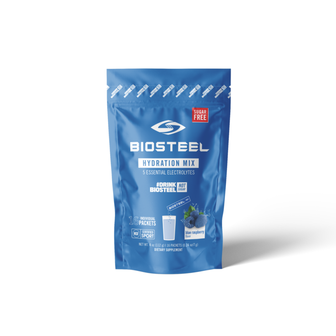 Hydration Mix - Blue Raspberry 16ct Gusset Caddy