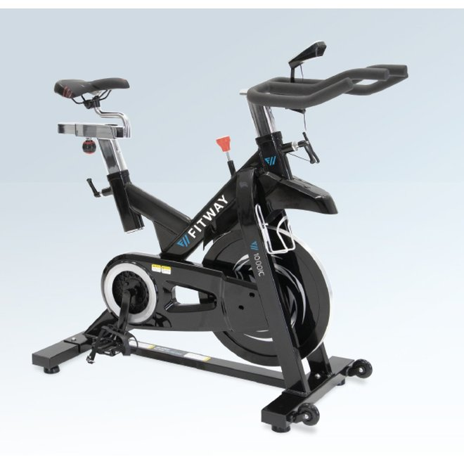Fitway 1000IC Magnetic Indoor Cycle with LCD Console