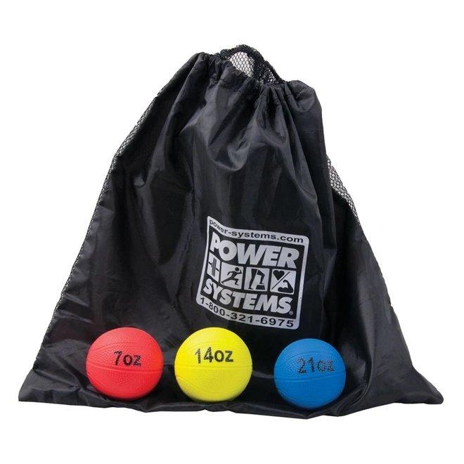 Power Throw Balls Baseball size 7oz, 14oz and 21oz