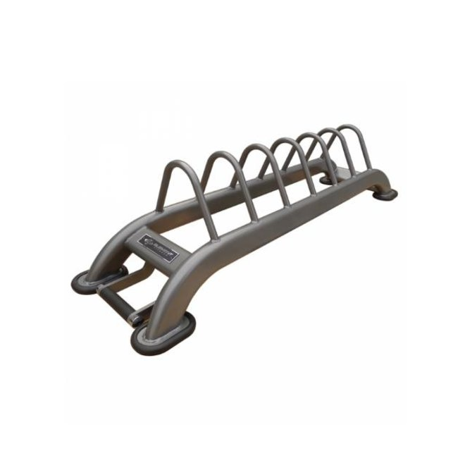 Element Horizontal Bumper Plate Rack with Wheels