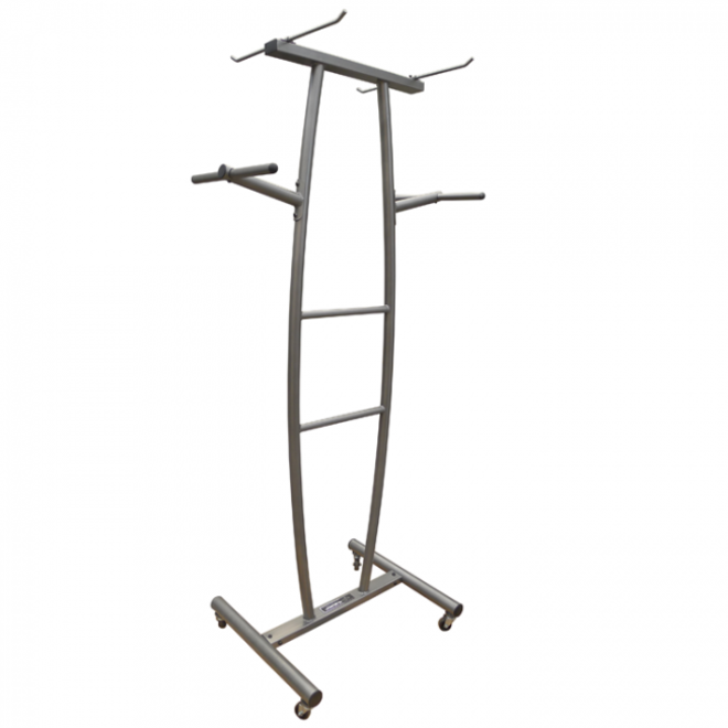 Element Free Standing Mat/Rope Rack (Holds 20 Mats)